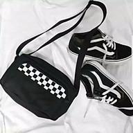 Túi đeo chéo Thời Trang Nữ Vải Bố Canvas Cao Cấp Có Khóa Kéo thời trang King168 mã T05 thumbnail