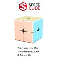 Rubik 2x2 Moyu Meilong Macaron Khối Lập Phương 2 Tầng Xoay Mượt thumbnail