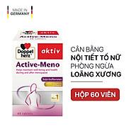 Thực phẩm bảo vệ sức khỏe DOPPELHERZ ACTIVE- MENO (60 viên) thumbnail