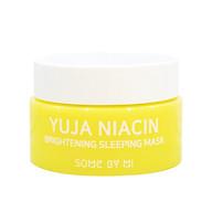 [Mini size] Mặt Nạ Ngủ Dưỡng Trắng Sáng Da Some By Mi Yuja Niacin 30 Days Miracle Brightening Sleeping Mask 15g thumbnail