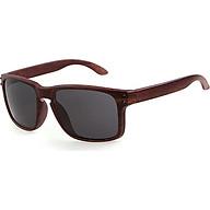 Wood Texture Sunglasses UV400 Mirrored Sun glasses For Women Men Outdoor Eyewear thumbnail