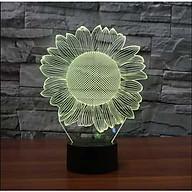 Đèn ngủ LED 3D trang trí - quà tặng độc đáo thumbnail