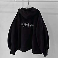 áo khoác nỉ hoodie Unisex phong cách Hàn SOMEDAY, áo khoác nam nữ có túi from rộng ulzzang có khoá kéo, ÁO KHOÁC CHỐNG NẮNG CÓ MŨ - ÁO KHOÁC HOODIE NAM NỮ ULZZANG COUPLE thumbnail
