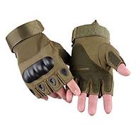 Găng tay tập GYM, đi phượt bảo vệ cổ tay và khớp ngón tay - Hàng chính hãng thumbnail
