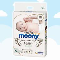 Tã Bỉm dán Moony Natural Size S- 58 miếng( bé 4- 8kg) thumbnail