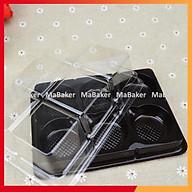Set 500 hộp 6 ô đựng bánh loại tốt, bền đẹp, 2 size FG332 và FG335 - MaBaker thumbnail