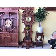 Đồng hồ tứ linh gỗ hương DH04 thumbnail
