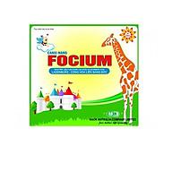 Thực phẩm bổ sung Canxi Focium - ABDK Giúp trẻ tăng chiều cao - Hàng chính hãng (Tặng kèm khăn lau xanh) thumbnail