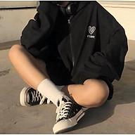 Áo khoác Hoodie nỉ nam nữ form rộng Heart Korea Freesize mặc vừa từ 40-65kg Molly Urban thumbnail