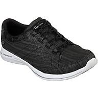 Giày Thể Thao Nữ Skechers 23719-BKW - Đen thumbnail