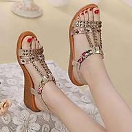 Giày sandal nữ phong cách Hàn Quốc gắn đá đẹp F611 thumbnail