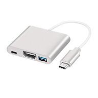 Cáp Chuyển Đổi Type-C Sang USB 3.0 HDMI Adapter PD thumbnail