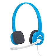 100% original Tai nghe có dây H150 của Logitech Gaming Stereo Tai nghe 3,5 mm kép có MIC cho Máy tính để bàn thumbnail