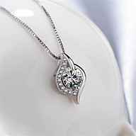 Dây Chuyền Nữ S925 Mặt Đính Đá Diamond Nhân Tạo Siêu Xinh thumbnail