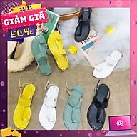 Giày sandal xỏ chữ Y hở gót - SD-0248 thumbnail
