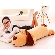 Gấu Bông Ôm Cho Bé Cún Lười Ngủ Dài 110cm thumbnail