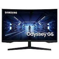 Màn hình máy tính Samsung LC32G55TQWEXXV 32 inch WQHD 144Hz Cong - Hàng Chính Hãng thumbnail
