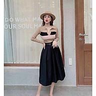 Chân váy xếp ly dáng lỡ thumbnail