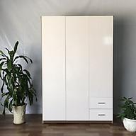Tủ áo Juno Sofa MRC 123 185 47 cm (màu trắng) thumbnail