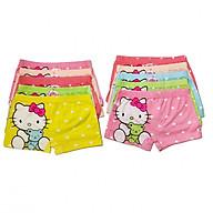 Set 10 quần chíp đùi mặc trong váy cho bé gái - màu ngẫu nhiên + mẫu ngẫu nhiên thumbnail