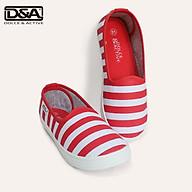 Giày trẻ em D&A EP G1936 kẻ đỏ thumbnail