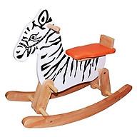 Bập bênh cho bé bằng gỗ cao cấp hình ngựa thumbnail