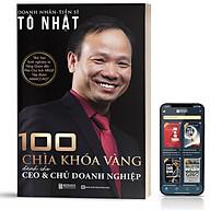 Sách - 100 Chìa Khóa Vàng Cho Doanh Nhân Và Chủ Doanh Nghiệp thumbnail