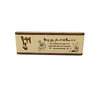 Bút gỗ cao cấp làm quà tặng ngày 20 10 (Kiểu hộp đứng) thumbnail