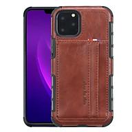 Ốp da dành cho Iphone 11 Pro Max - 6.5 Inch kiêm 2 khe đựng thẻ, card thumbnail