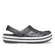 Giày Lười Unisex Crocs Crocband Cardio Wave Màu Đen 206474-02W Size M11 thumbnail