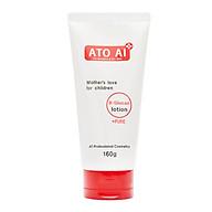 Lotion ngừa và hỗ trợ làm giảm các triệu chứng hăm tã, rôm sảy, chàm da dành cho bé ATO AI 160g tinh chaasrt thiên nhiên thumbnail