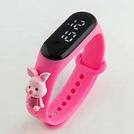 Đồng hồ điện tử UNISEX màn hình led hiển thị cực cool Dây đeo silicone thumbnail