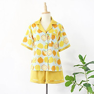 FEMEI - Bộ pyjama ngắn quả chanh PNP028 LOCA SET thumbnail
