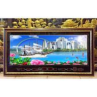 Tranh đồng hồ , Thuận buồm xuôi gió DH219 thumbnail
