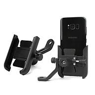Giá đỡ kẹp điện thoại cho xe máy xe mô tô Selfiecom S-500 - Siêu cứng, chống trộm, chống rung lắc, tháo lắp dễ dàng - Hàng chính hãng thumbnail