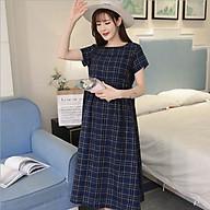 Đầm bầu kẻ dáng maxi Azuno AZ23092 thumbnail
