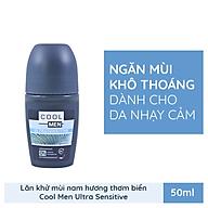 Lăn khử mùi Cool Men ULTRASENSITIVE dành cho da nhạy cảm 50ml thumbnail