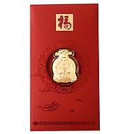 Bao lì xì Thần Tài may mắn tết bằng vàng 999-RN01 thumbnail