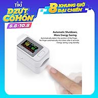 Máy đo huyết áp kẹt ngón tay kỹ thuật số Màn hình OLED màu kép đo nồng độ Oxy, SpO2 trong máu SpO2 LK88 thumbnail