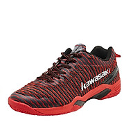 Giày cầu lông nam nữ Kawasaki K525 mẫu mới, êm ái, chống lật cổ chân màu đỏ đủ size thumbnail