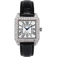 Đồng hồ nữ chính hãng Royal Crown 6104 dây da đen thumbnail