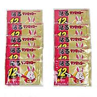 Bộ 10 Miếng Dán Giữ Nhiệt Con Thỏ thumbnail