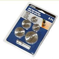 Bộ 5 lưỡi cưa hợp kim cao cấp (đường kính thanh kết nối 6mm) thumbnail