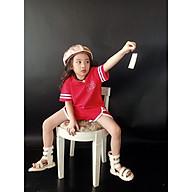Đồ bộ bé gái, set bộ thun mềm mịn XINH XẮN cho bé mặc nhà 0112 thumbnail