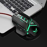 Chuột cơ gaming led RGB 3200DPI - X400B mechanical Gaming mouse 11 Key thumbnail