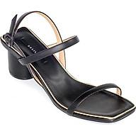 Giày Sandal Gót Trụ 5 phân Sulily SGT1-II20 màu đen thumbnail