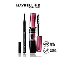 Bộ trang điểm mắt lâu trôi Mascara cong mi Hyper Curl và Bút kẻ mắt 36H không thấm nước Line Tatoo High Impact Maybelline New York thumbnail