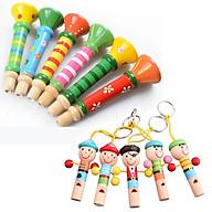 Kèn gỗ và còi gỗ cho bé GT - Đồ chơi gỗ thumbnail