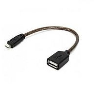 Cáp Micro USB OTG Unitek Y-C438GBK cho Table và Mobile - Hàng chính hãng thumbnail