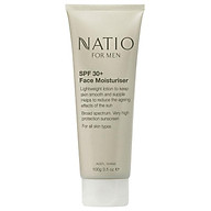 Natio Mens Face Moisturiser SPF 30+ 100g thumbnail